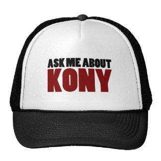 Ask About Kony 2012 Stop Joseph Kony Question Trucker Hat