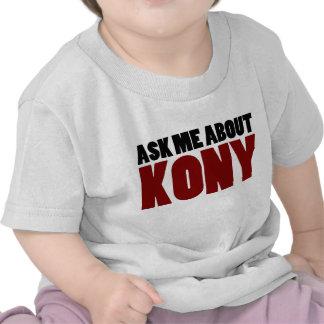 Ask About Kony 2012 Stop Joseph Kony Question T-shirts