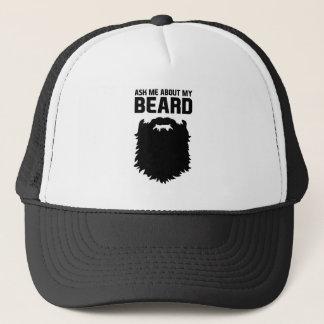 Ask About My Beard Trucker Hat
