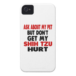 Ask About my Shih Tzu iPhone 4 Case