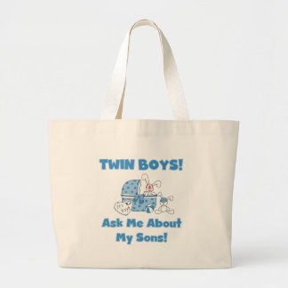 Ask About My Twin Sons Tshirts and Gifts Bags