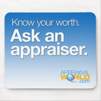 """""""Ask an Appraiser"""" Mousepad"""