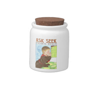 Ask and Seek Prayer Jar Candy Jar