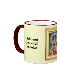 Ask and you shall receive ringer coffee mug
