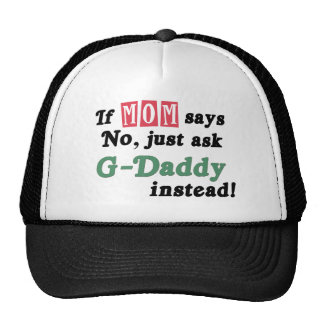 Ask G-Daddy Instead Trucker Hats