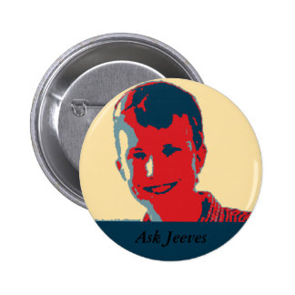 Ask Jeeves Button-SIP Pinback Button