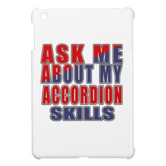 ASK ME ABOUT ACCORDION DANCE iPad MINI CASE