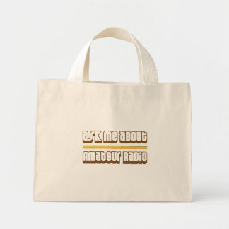 Ask Me About Amateur Radio Tote Bag