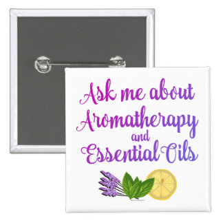 Ask me about Aromatherapy Essential Oils Business Button