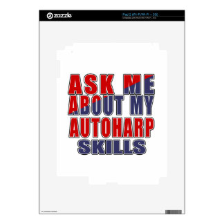 ASK ME ABOUT AUTOHARP DANCE DECAL FOR iPad 2