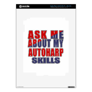 ASK ME ABOUT AUTOHARP DANCE iPad 3 DECAL