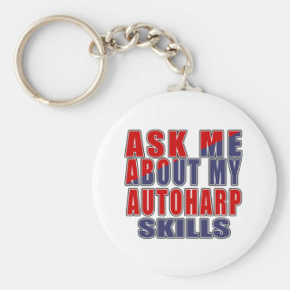 ASK ME ABOUT AUTOHARP DANCE KEYCHAIN