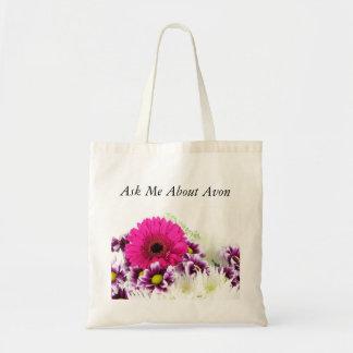 Ask Me About Avon Tote Bag - Bouquet