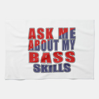 ASK ME ABOUT BASS DANCE TOWELS