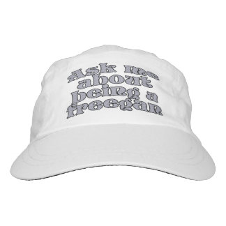Ask me about being a freegan headsweats hat