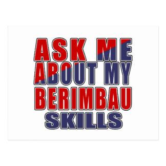 ASK ME ABOUT BERIMBAU DANCE POSTCARD