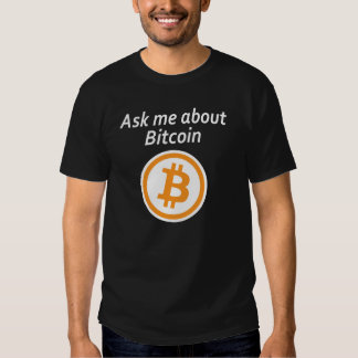 Ask me about Bitcoin - Dark Tees