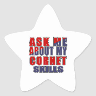 ASK ME ABOUT CORNET DANCE STAR STICKER
