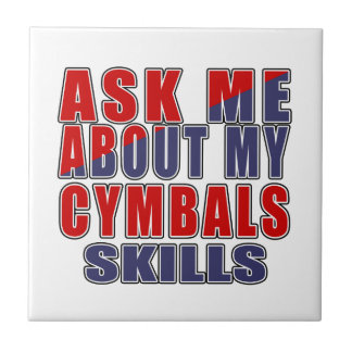 ASK ME ABOUT CYMBALS DANCE CERAMIC TILE