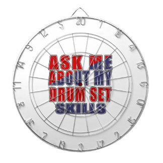 ASK ME ABOUT DRUM SET DANCE DARTBOARD WITH DARTS