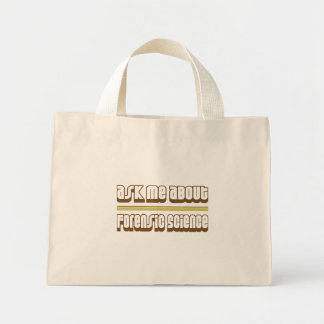 Ask Me About Forensic Science Tote Bag