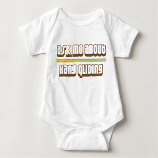Ask Me About Hang Gliding Baby Bodysuit
