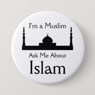 Ask Me About Islam Pinback Button