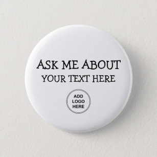 Ask Me About Logo Design Button