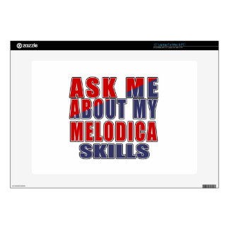 ASK ME ABOUT MELODICA MUSIC SKIN FOR LAPTOP