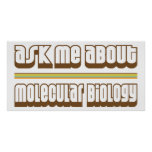 Ask Me About Molecular Biology Posters