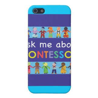 Ask me about MONTESSORI Case For iPhone SE/5/5s