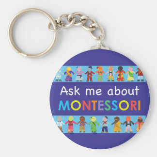 Ask me about MONTESSORI Keychain
