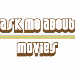 Ask Me About Movies Cut Outs