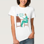 Ask Me About My Book Art Deco Lady Author Shirt