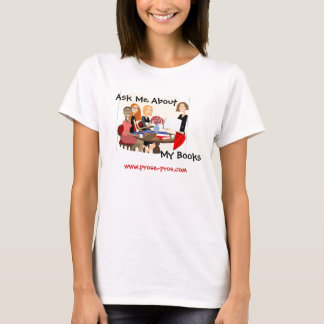 Ask Me About My Books T-Shirt