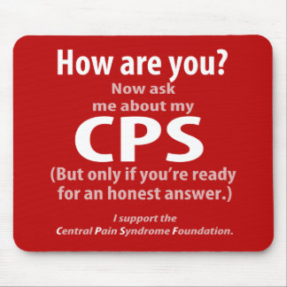 Ask me about my CPS (if you're ready for honesty.) Mouse Pad