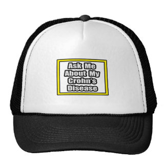 Ask Me About My Crohn's Disease Hat