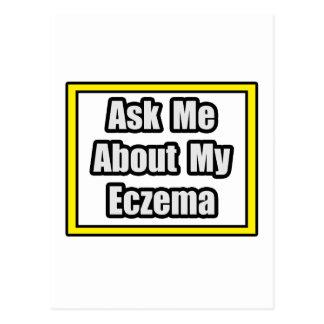 Ask Me About My Eczema Postcard