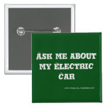 Ask me about my Electric Car - Button