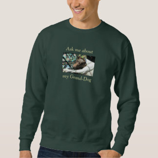 Ask Me About My Grand-Dog Customized Photo T-Shirt