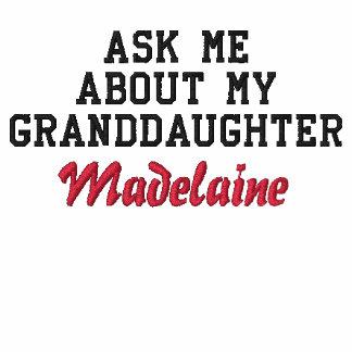 Ask Me About My Granddaughter | Proud New Grandpa Embroidered Polo Shirt