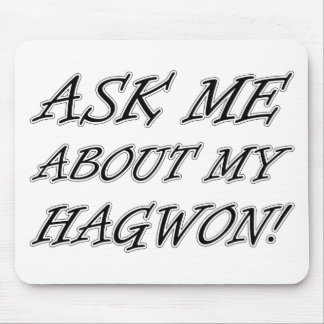 Ask me about my hagwon mouse pads