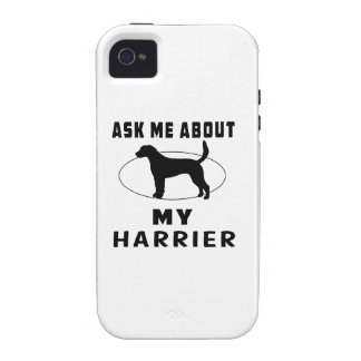 Ask Me About My Harrier iPhone 4/4S Case