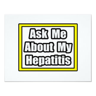 Ask Me About My Hepatitis Card
