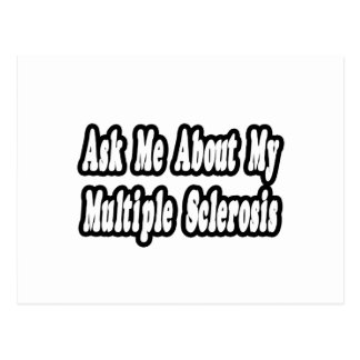 Ask Me About My Multiple Sclerosis Postcards
