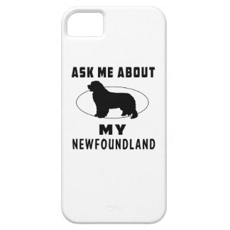 Ask Me About My Newfoundland iPhone SE/5/5s Case