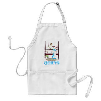 Ask Me About My Quilts Adult Apron