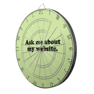 ASK ME ABOUT MY WEBSITE DARTBOARD WITH DARTS