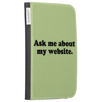 ASK ME ABOUT MY WEBSITE KINDLE 3G COVERS