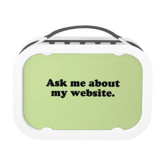 ASK ME ABOUT MY WEBSITE YUBO LUNCH BOXES